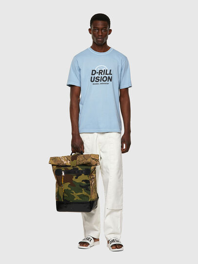 Diesel - T-JUBINDY, Blu Chiaro - T-Shirts - Image 4