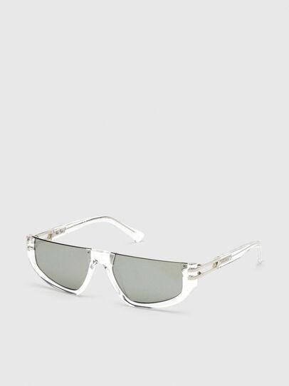 Diesel - DL0315, Weiß - Sonnenbrille - Image 2