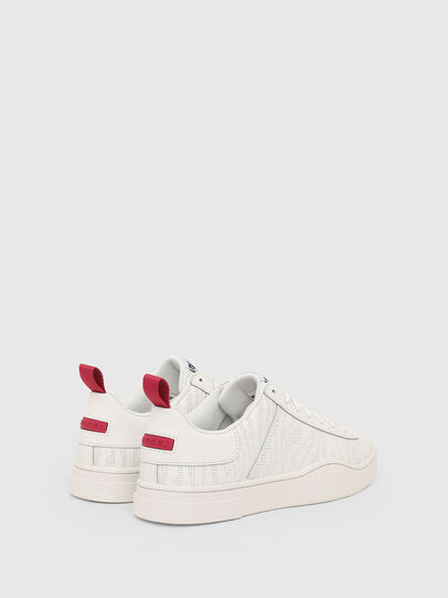 Diesel - S-CLEVER LOW LACE W, Bianco - Sneakers - Image 3
