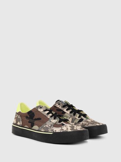 Diesel - S-FLIP LOW, Armeebraun - Sneakers - Image 2