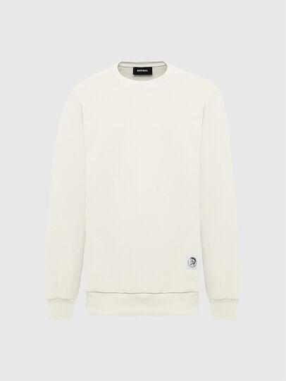 Diesel - S-GIRK-MOHI, Blanc - Pull Cotton - Image 1