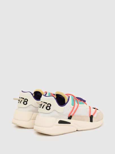 Diesel - S-SERENDIPITY LC EVO, Bianco/Rosa - Sneakers - Image 3