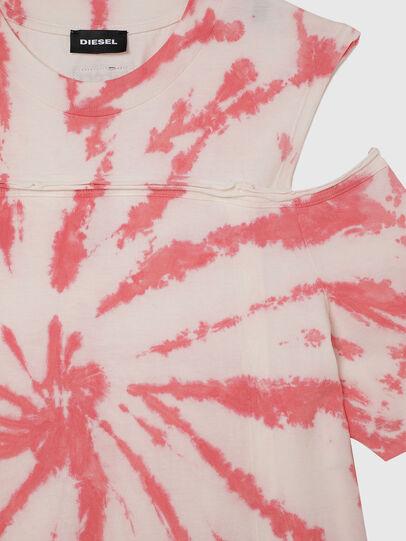 Diesel - DOPELTD, Rose/Blanc - Robes - Image 3