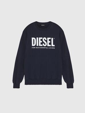 S-GIR-DIVISION-LOGO, Blau - Sweatshirts