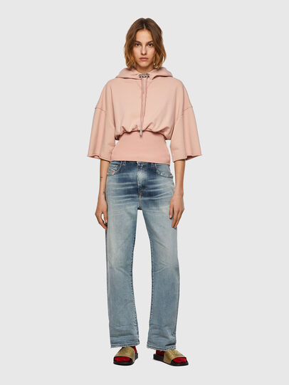 Diesel - F-BELTY, Rose Poudré - Pull Cotton - Image 4