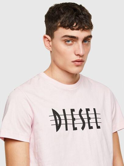 Diesel - T-DIEGOS-E34, Rose Poudré - T-Shirts - Image 3