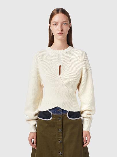 Diesel - M-RHODY, White - Knitwear - Image 1