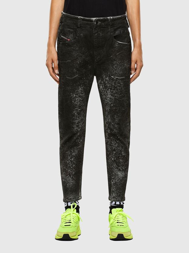 Fayza 009DL, Schwarz/Dunkelgrau - Jeans