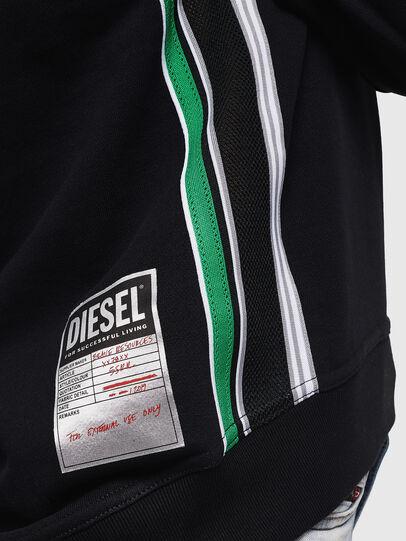 Diesel - F-LYANYDY, Schwarz - Sweatshirts - Image 6