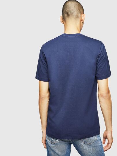 Diesel - T-JUST-B1, Blau - T-Shirts - Image 2