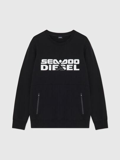 Diesel - BMOWT-ROUNDOO, Schwarz/Orange - Out of water - Image 1