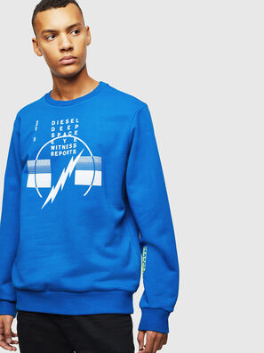 S-GIRK-J2, Blau - Sweatshirts