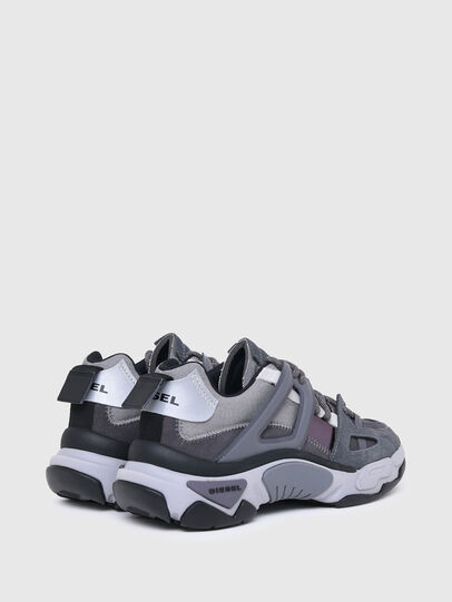 Diesel - S-KIPPER LOW TREK II, Grey - Sneakers - Image 3