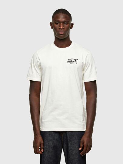 Diesel - T-JUST-A33, Weiß - T-Shirts - Image 1