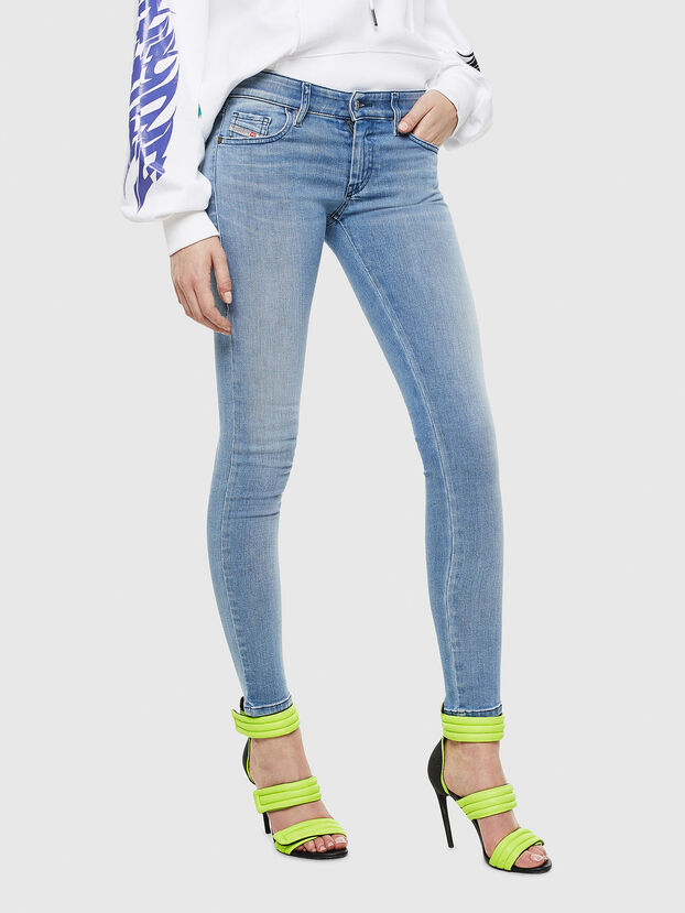 Slandy Low 0096L, Hellblau - Jeans
