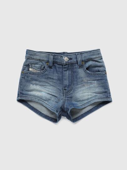 Diesel - PGINGHER JOGGJEANS, Bleu moyen - Shorts - Image 1