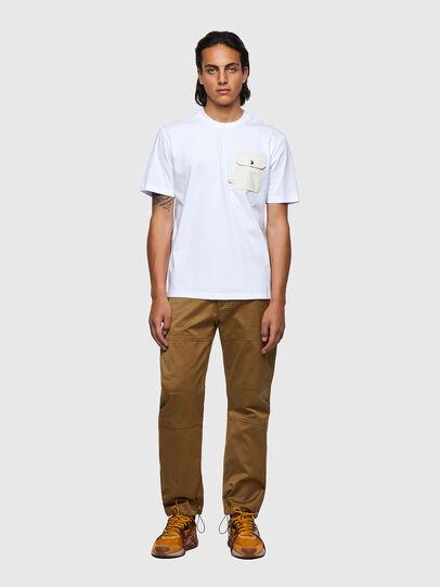 Diesel - T-JUSMER, Blanc - T-Shirts - Image 4