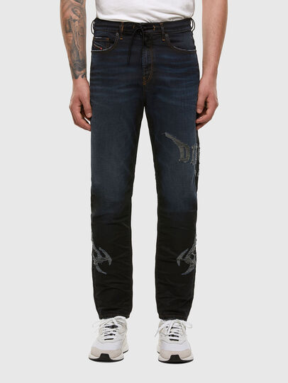 Diesel - D-VIDER JoggJeans® 009HE, Dunkelblau - Jeans - Image 1