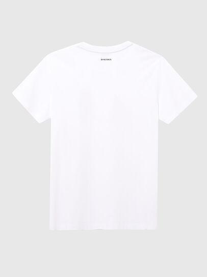 Diesel - UFTEE-ELODIE, Blanc - T-Shirts - Image 2