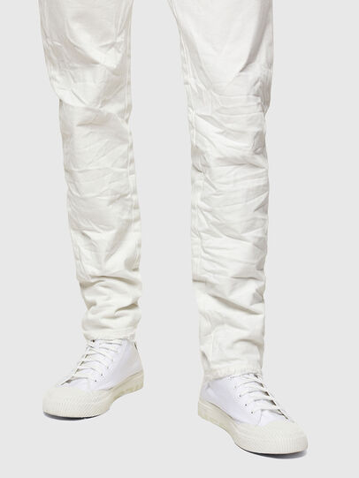 Diesel - D-Kras 0HBAJ, Bianco - Jeans - Image 5