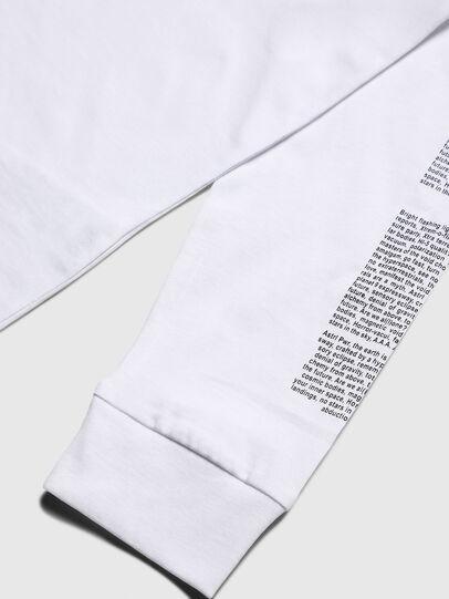 Diesel - TJUSTLS-NEW, Weiß - T-Shirts und Tops - Image 4