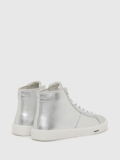 Diesel - S-MYDORI MC W, Argento - Sneakers - Image 3