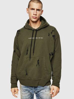 S-ALBY-RIP, Armeegrün - Sweatshirts