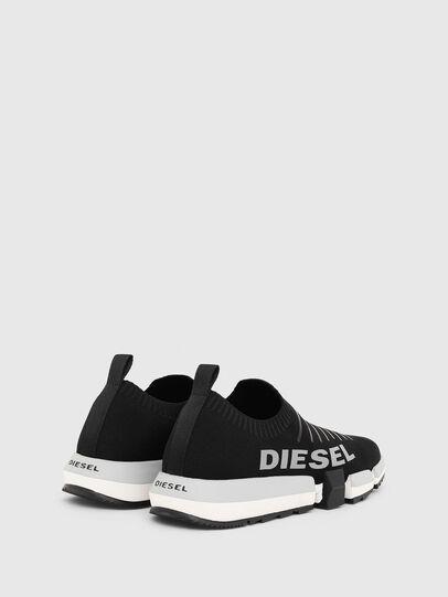 Diesel - H-PADOLA LOW SOCK, Schwarz - Sneakers - Image 3