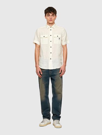 Diesel - S-KIRU, Blanc - Chemises - Image 4