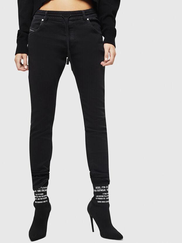 Krailey JoggJeans 0687Z, Schwarz/Dunkelgrau - Jeans