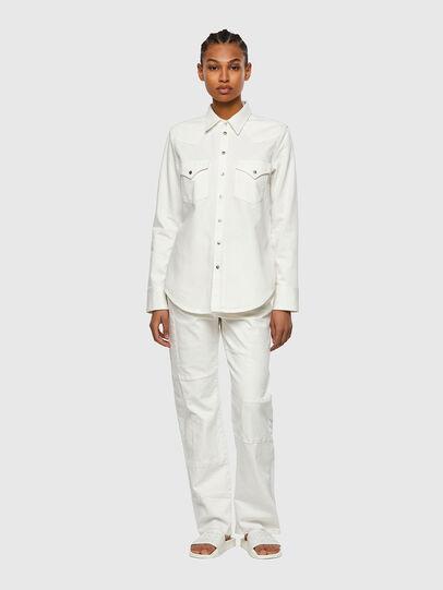 Diesel - DE-RINGY, White - Denim Shirts - Image 5