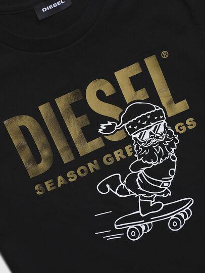 Diesel - TCLAUS-TSE, Schwarz - T-Shirts und Tops - Image 3