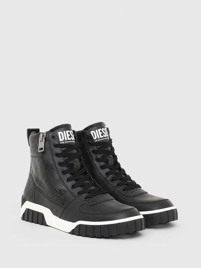 Diesel - S-RUA MID, Schwarz - Sneakers - Image 2