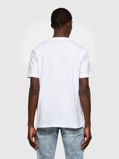 Diesel - T-JUST-LAB, Blanc - T-Shirts - Image 2