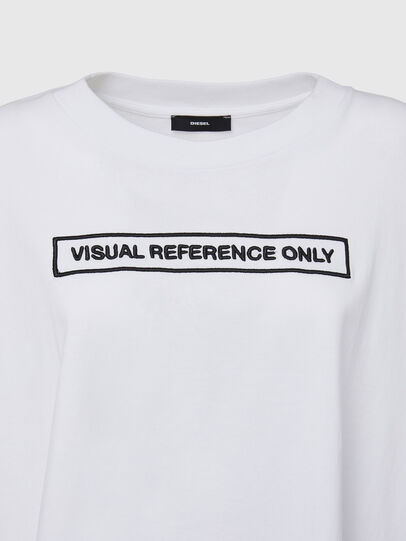 Diesel - T-CRAMBLE, Weiß - T-Shirts - Image 3
