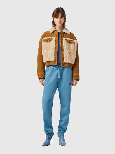 Diesel - W-ARY, Light Brown - Winter Jackets - Image 4