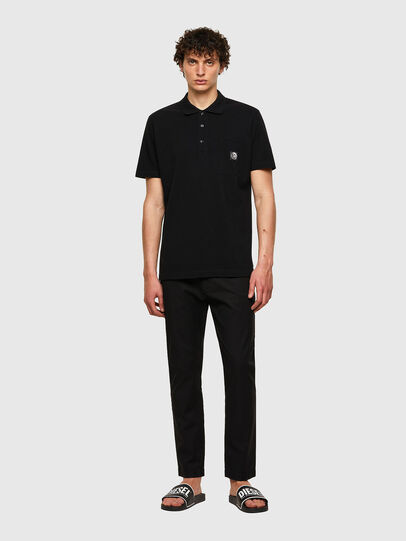 Diesel - T-POLO-WORKY, Nero - Polo - Image 4