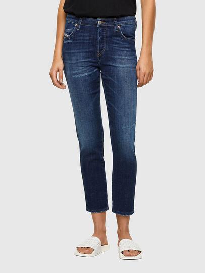 Diesel - Babhila 009PP, Bleu Foncé - Jeans - Image 1