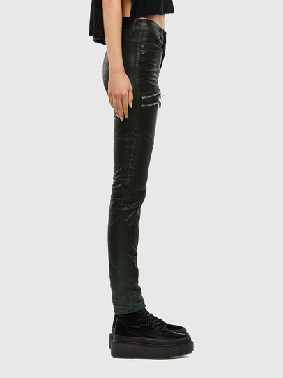 Diesel - D-Ollies JoggJeans® 069QQ, Schwarz/Dunkelgrau - Jeans - Image 3