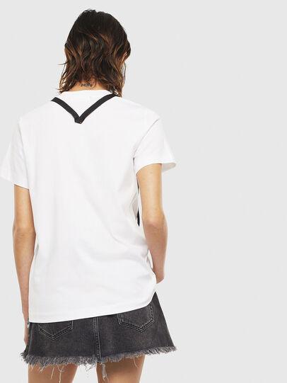 Diesel - T-SILY-S3, Weiß - T-Shirts - Image 2