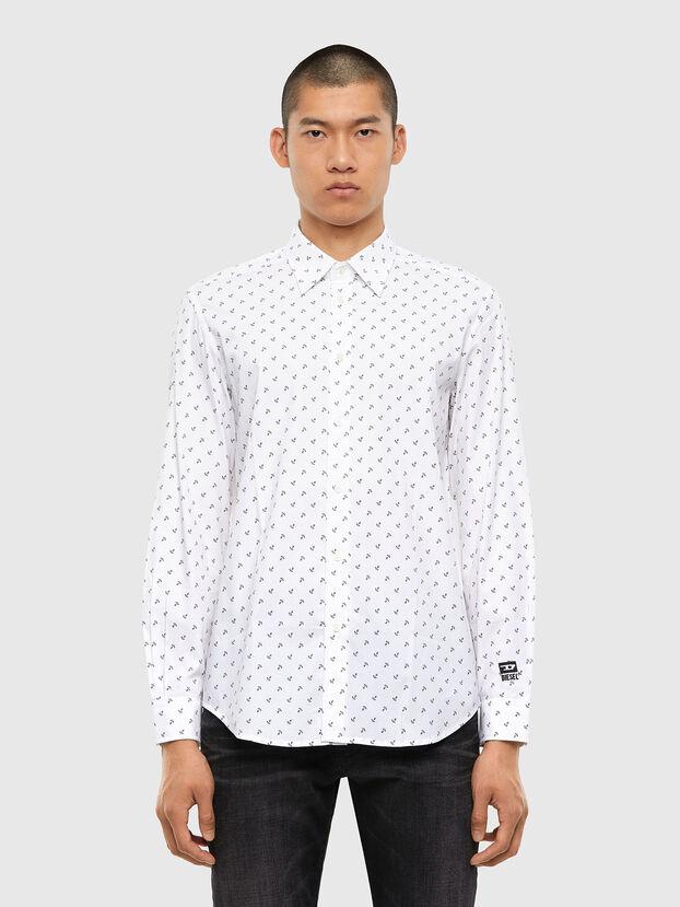 S-RILEY-ANC-KA, Weiß - Hemden