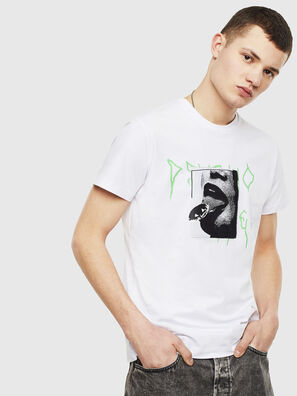 T-DIEGO-S12, Weiß - T-Shirts