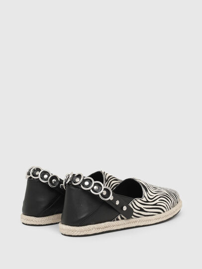 Diesel - S-LIMA W, Noir/Blanc - Chaussures Plates - Image 3