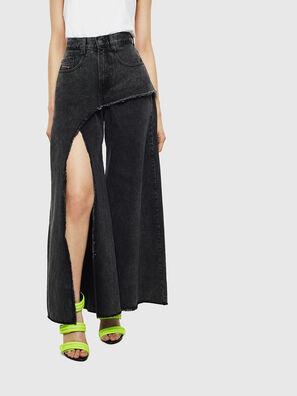 D-Izzier 0KAXA, Schwarz/Dunkelgrau - Jeans