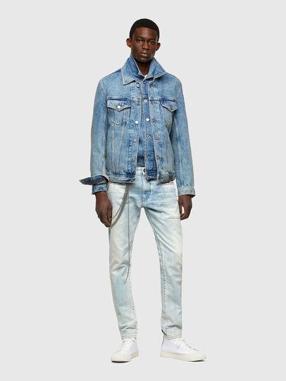 Diesel - D-Strukt 009TN, Hellblau - Jeans - Image 6