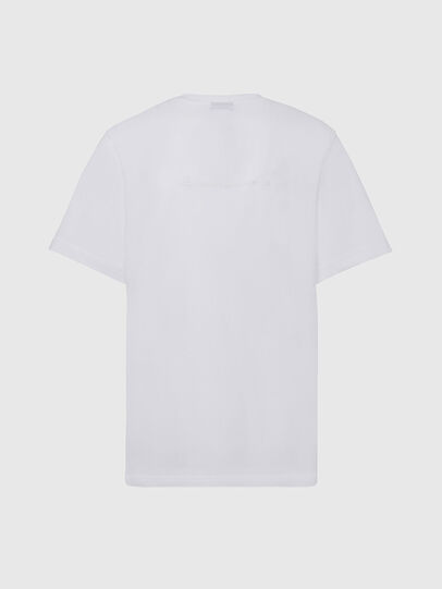 Diesel - T-TUBOLAR-X20, Weiß - T-Shirts - Image 2
