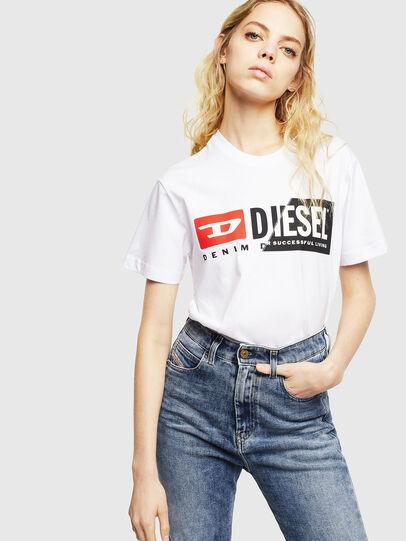 Diesel - T-DIEGO-CUTY, Weiß - T-Shirts - Image 6