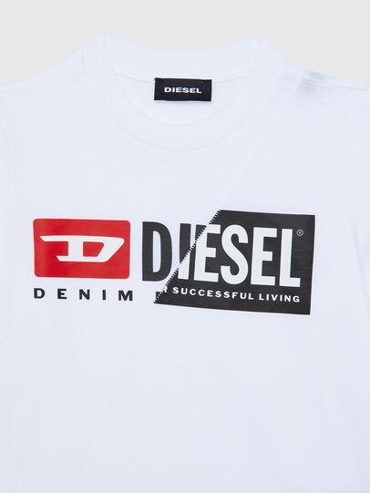 Diesel - TDIEGOCUTYB ML-R, Blanc - T-shirts et Hauts - Image 3