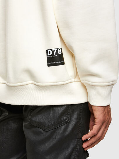 Diesel - S-UMMER-N74, Weiß - Sweatshirts - Image 4
