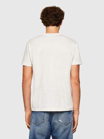 Diesel - T-DIEGOS-A5, Bianco - T-Shirts - Image 2